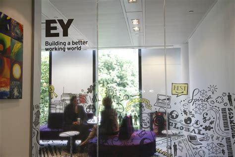 Ey Nyc Office by Brand New New Logo And Name For Ernst By Brandpie