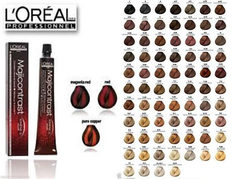 L Oreal Hair Color loreal professional hair color chart loreal hair colors