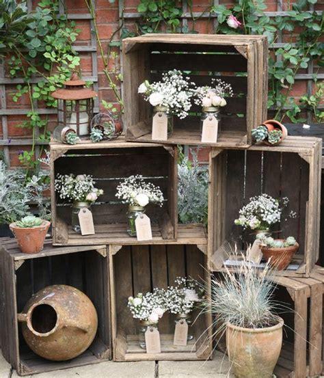 decoracion con cajas de madera decoracion con cajas de fruta blog alquiler muebles eventos