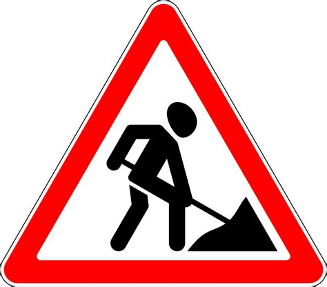 Baustellenschild Svg by File 1 23 Ussr Road Sign Svg Wikimedia Commons