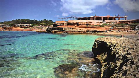 best beaches ibiza ibiza best beaches cala conta near san antonio with chill
