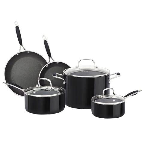 Kitchenaid 10 Cookware Set by Kitchenaid Cookware Sets 8 Aluminum Nonstick
