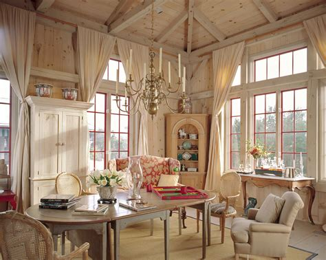 Cottage Home Interiors post and beam eastern white pine house by eric watson