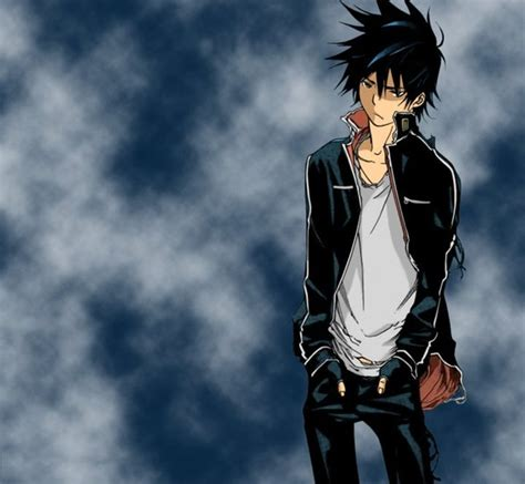 anime boy cool anime cool guy wallpaper wallpapersafari