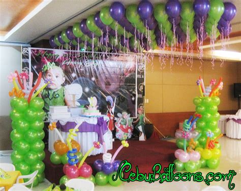 tinkerbell balloon decorations party favors ideas