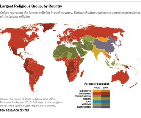 map these are the world s least religious countries the largest religious group by country colors represent the