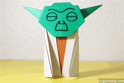 How To Make Origami Yoda Easy - origami origami way
