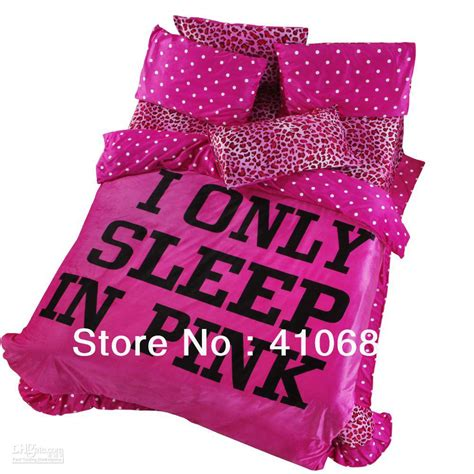 love pink bed set tonight loving pink leopard printed quilt cover set
