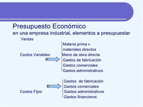 clase 4 presupuesto de materia prima compras e los presupuestos ii organizaci 243 n de empresas ii