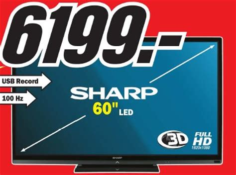 Promo Led Sharp Lc 32le265i Usb Hdmi archiwum telewizor led 60 quot sharp lc60le740e media