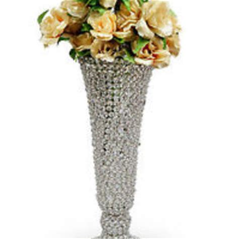 Beaded Flower Vase by Beaded Flower Vase Wedding From Simcshandicrafts