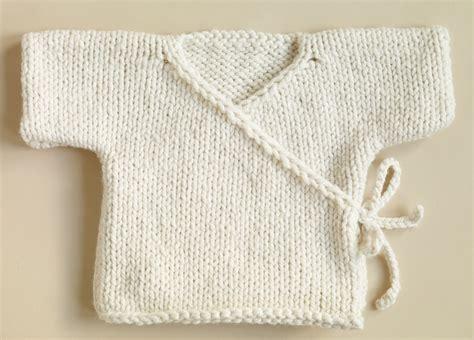 Free Knitting Pattern Newborn Kimono | free knitting patterns babies free knitting pattern