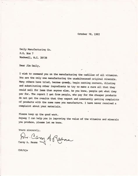 Endorsement Letter Department Health Rbti Reams Biological Theory Of Ionization