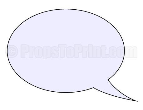 photo booth speech bubble template printable speech photo booth prop create diy props