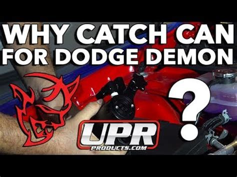 installing upr catch   dodge demon  bailys hyperformance youtube