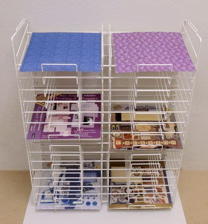 pattern paper rack 17 best images about craft storage on pinterest