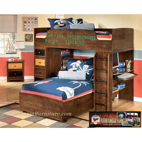 Tempat Tidur Kayu Anak tempat tidur anak jati minimalis furnitureminimalisblog
