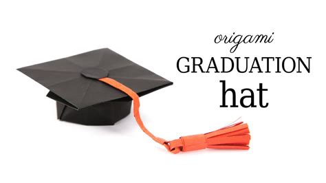 Origami Graduation Hat - top hat origami image collections craft decoration ideas