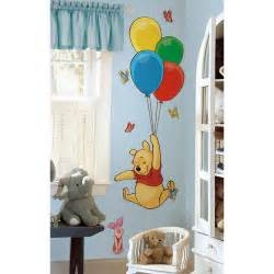 Giant Wall Stickers For Nursery new giant winnie the pooh amp piglet wall decals disney