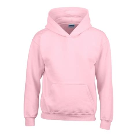Gildan Softstyle Light Pink by Gi18500 Heavy Blend Hooded Sweatshirt Light Pink