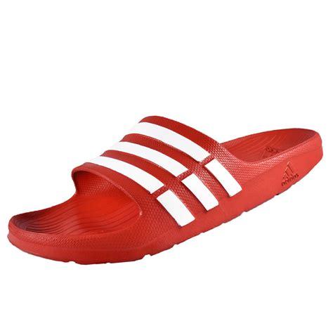 Sandal Adidas Duramo Slide Hitam Flip Flop Sendal Fashion adidas mens duramo slide flip flops shower pool