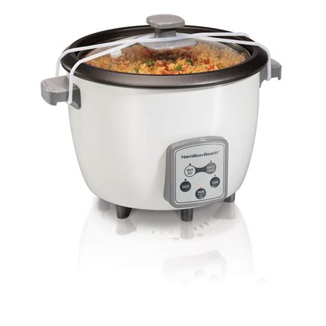 Rice Cooker Quantum Digital hamilton digital 16 cup rice cooker 37547 the home