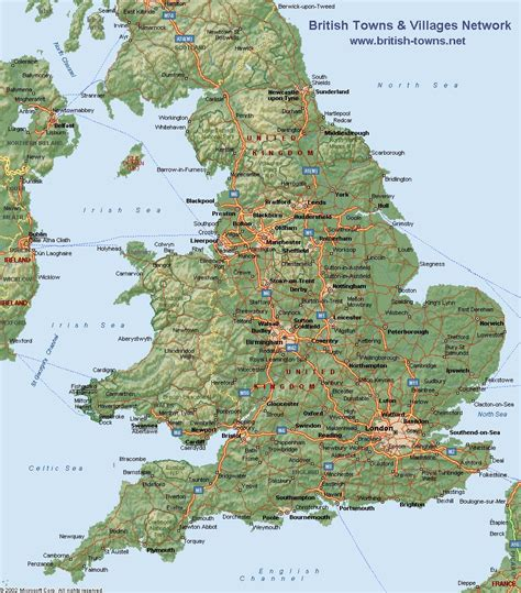 map uk geography maps of