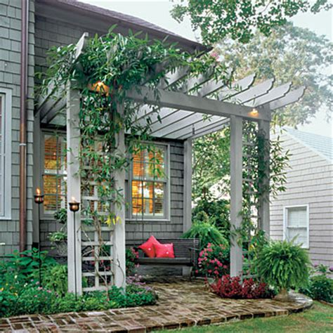 Front Yard Trellis Ideas inspiration create a summer oasis the inspired room