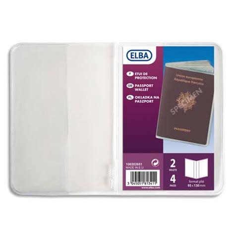 bureau pour passeport elba etuis pour passeport 9 5 x 13 cm pvc 30 100eme