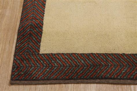 Large Solid Color Area Rugs Large Solid Gold Color Modern 7x9 Gabbeh Area Rug Wool Carpet Ebay
