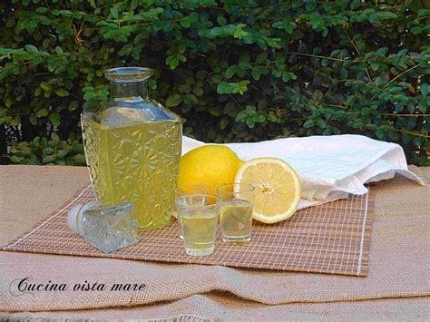 bagna per torte al limoncello sciroppo di limoni cucina vista mare