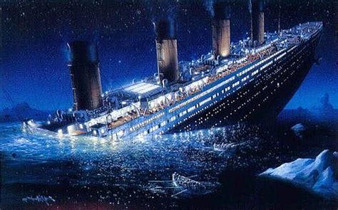 titanic sink titanic