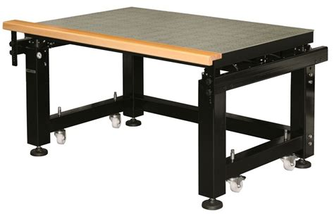 pneumatic vibration isolation workstation optical tables