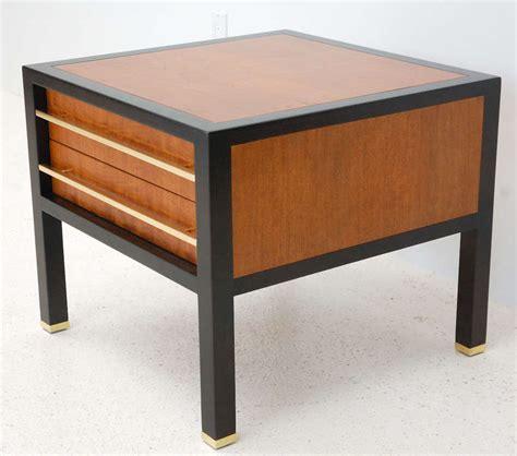 Two Drawer Side Table by Two Drawer Side Table By Michael At 1stdibs