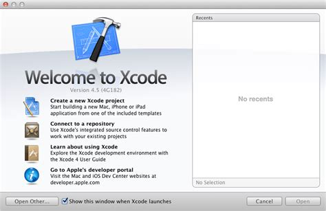format date xcode installing xcode 4 and the ios 6 sdk techotopia