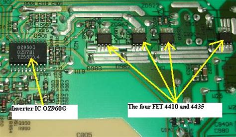 Regulator Monitor Lcd Acer acer al712 lcd monitor repair