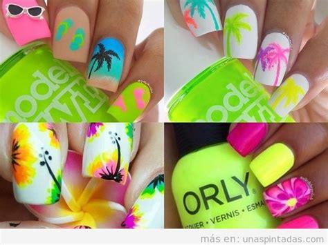 imagenes de uñas decoradas para verano u 241 as de verano dise 241 os llenos de vida y color con los que