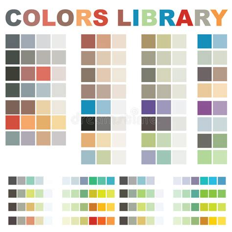 library colors vector colors library stock photo image 10364650