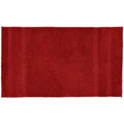 garland rug jazz chili pepper red 30 in x 50 in washable garland rug majesty cotton chili pepper red 30 in x 50 in