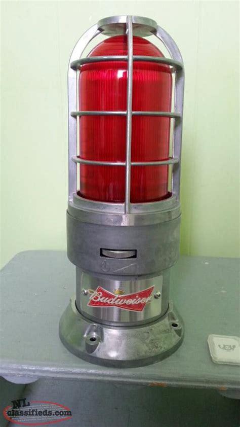 budweiser light for sale budweiser hockey goal light for sale mt pearl