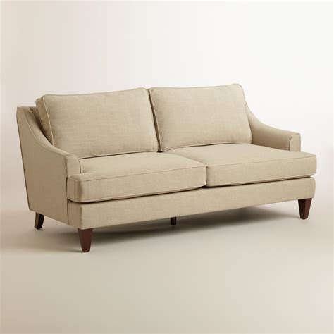 ellis sofa straw ellis sofa world market