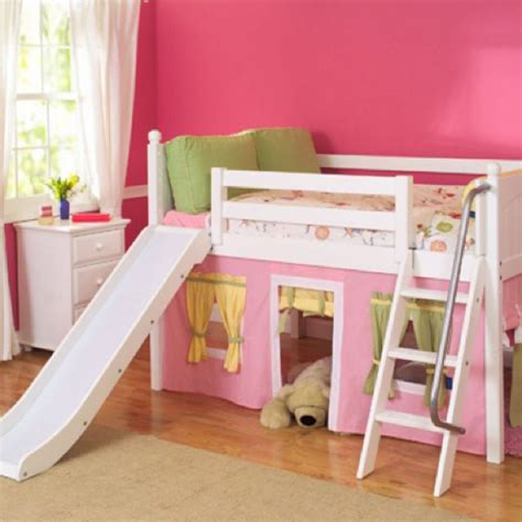 girls full size headboard full size low loft bed for girls children s room