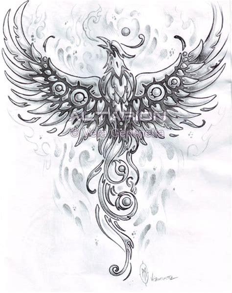phoenix tattoo vorlagen phönix tattoos er zijn vele legendes rond dit prachtige vogel volgens de