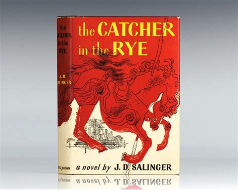 the catcher in the the catcher in the rye j d salinger first edition