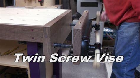 purple pocket hole workbench pt  twin screw vise
