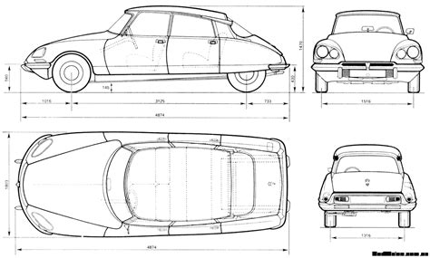 car plans southsiders ds citroen
