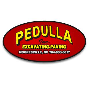 pedulla excavating and paving, inc. in mooresville, nc