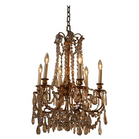 French 19th Century Crystal Chandelier At 1stdibs 19th Century Chandelier