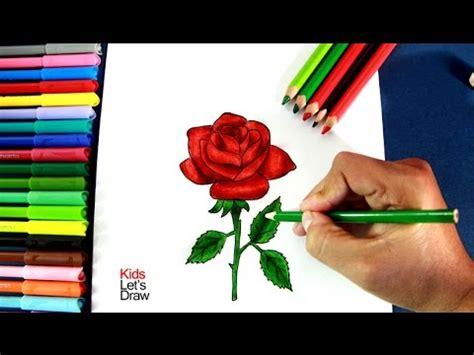 coplas de rosas y con dibujo como dibujar una rosa paso a paso how to draw a rose 1