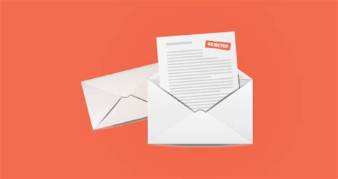 write rejection letters interviews